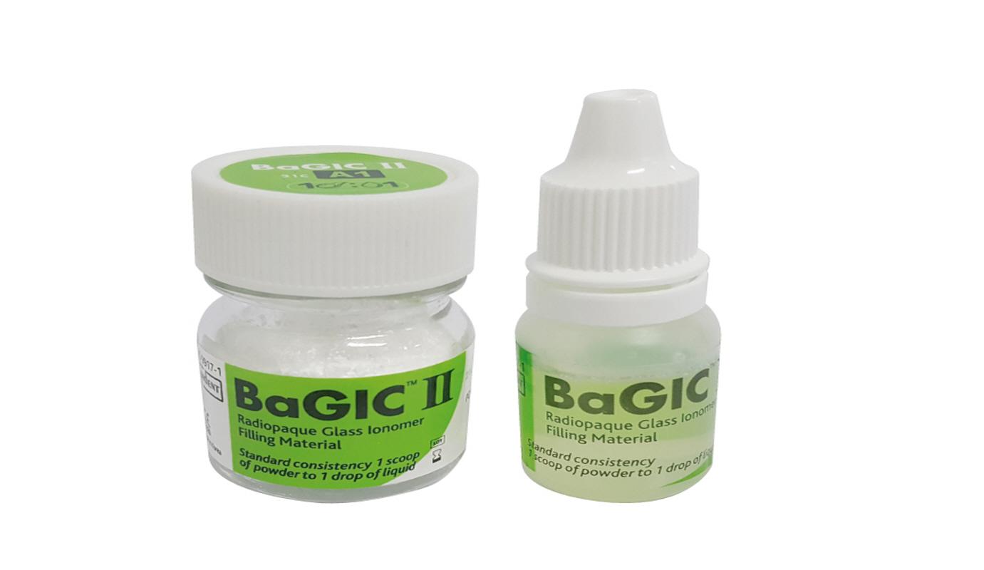 BaGIC Ⅱ – глас-йономерен цимент за обтурации