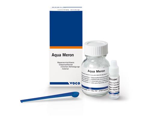 Aqua Meron – глас-йономерен цимент за фиксиране